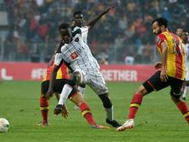 Esperance edged a thrilling tie to reach the final. AFP
