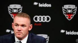La réponse intrigante de Rooney. AFP