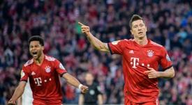 El Bayern jugueteó, pero acabó ganando. AFP