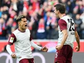 Bayern won 2-0. AFP