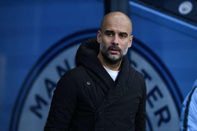 El City de Guardiola encajó su segunda derrota consecutiva. AFP/Archivo