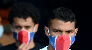 Thiago Silva would like to win the Champions League before leaving PSG. AFP