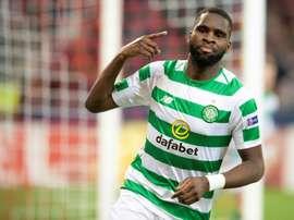 Lyon s'intéresse au serial-buteur du Celtic. AFP