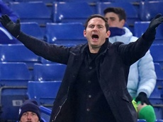 Chelsea fail to lift pressure on Lampard. AFP