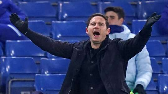 Frank Lampard's Chelsea have had a run of poor form. AFP