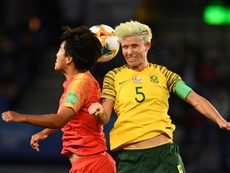 Janine Van Wyk wants her team to keep pushing despite loss to China. AFP