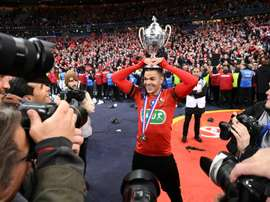 Ben Arfa's Rennes upset French giants PSG on Saturday. AFP