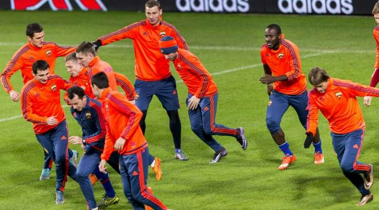 CSKA Moscow moved top of the table following a 3-0 win at Ural Yekaterinburg last week
