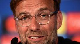 El técnico cree que Karius estuvo condicionado por el choque. AFP