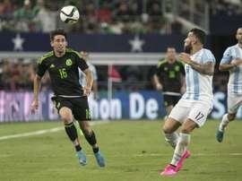 Argentina y México se verán las caras en Córdoba. AFP