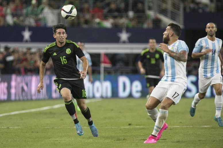 Argentina y México se verán las caras en San Antonio. AFP