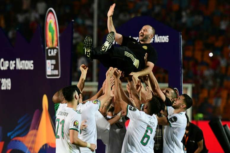 Belmadi savours 'incredible' Africa Cup of Nations triumph. AFP