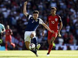 Tierney has been ruled out of Scotalnd's crucial Nations League matches. AFP