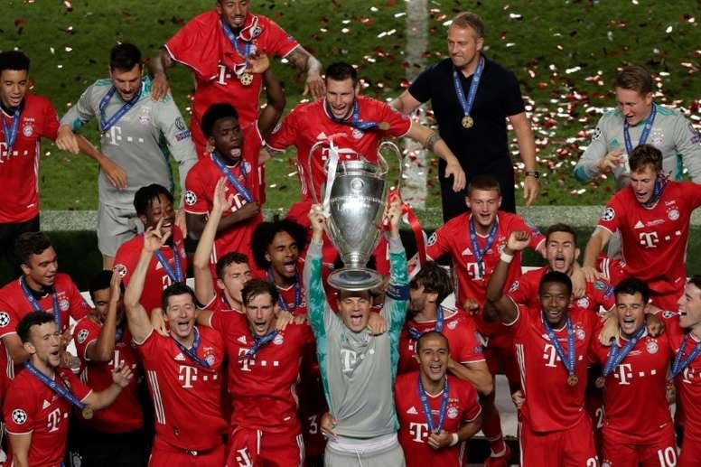 El Bayern ganó esta particular edición del torneo. AFP