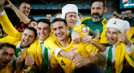 Tim Cahill is Australia's all-time top goalscorer. AFP