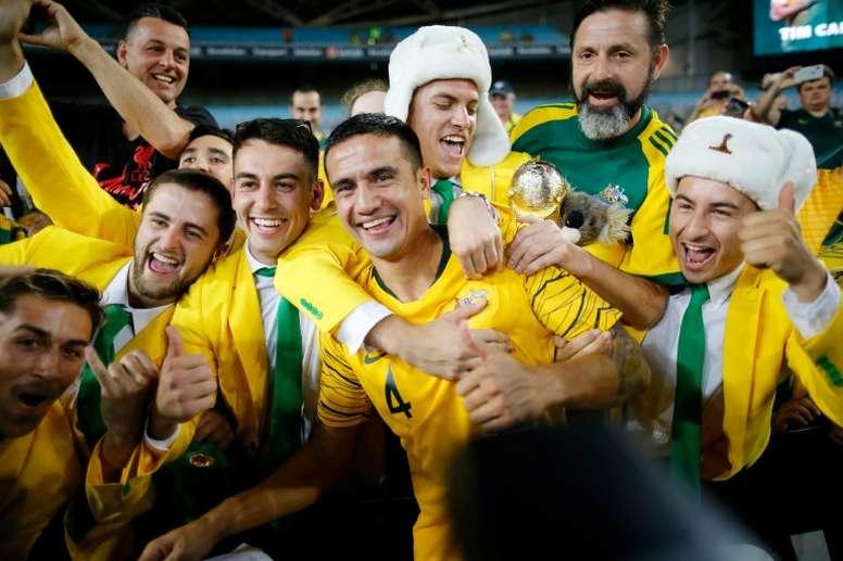 L'Australie gagne ses matches. AFP
