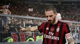 Problemas para el Milan. AFP