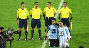 Les compos probables du match amical entre l'Argentine et l'Uruguay. AFP
