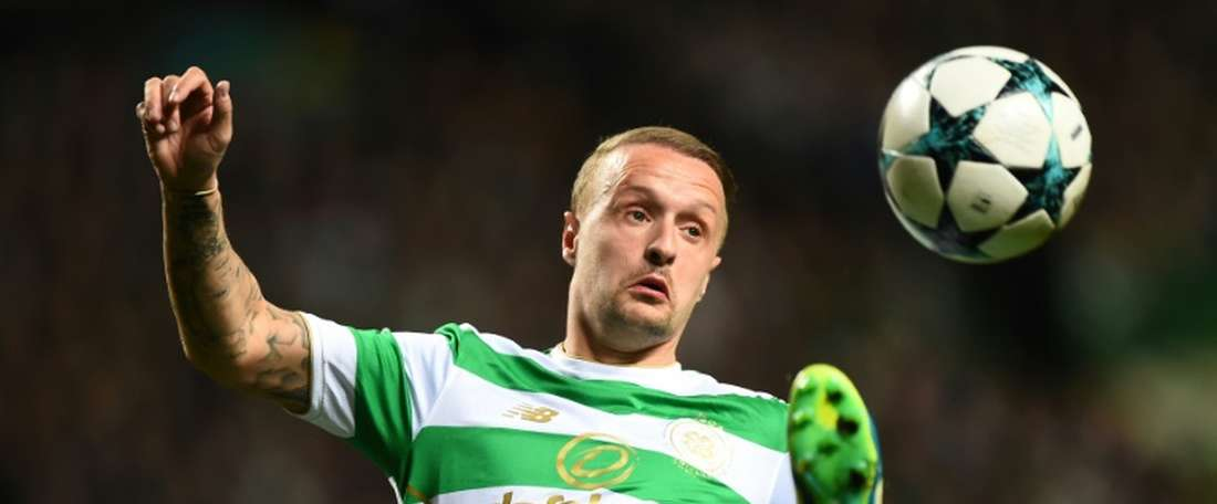 Griffiths scored the winner for Celtic. AFP