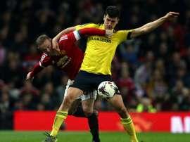 Propuesta de renovación para Dani Ayala del Middlesbrough. AFP