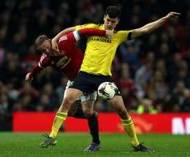 Dani Ayala es uno de los objetivos del Sheffield Wednesday. AFP