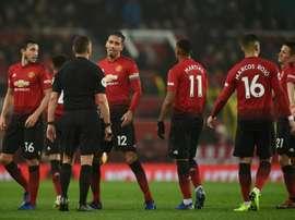 Manchester United reçoit Fulham. AFP