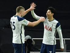 Son, Sissoko send Spurs into League Cup final