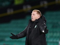 Neil Lennon's Celtic were stunned 0-2 at home to Ross County in the Betfred Cup. AFP