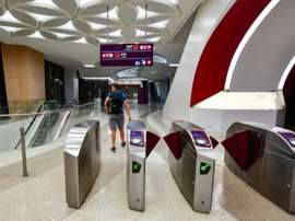 There is a new metro system. AFP