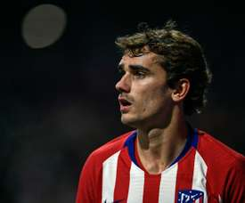 Griezmann was Atlético's marksman once more. AFP