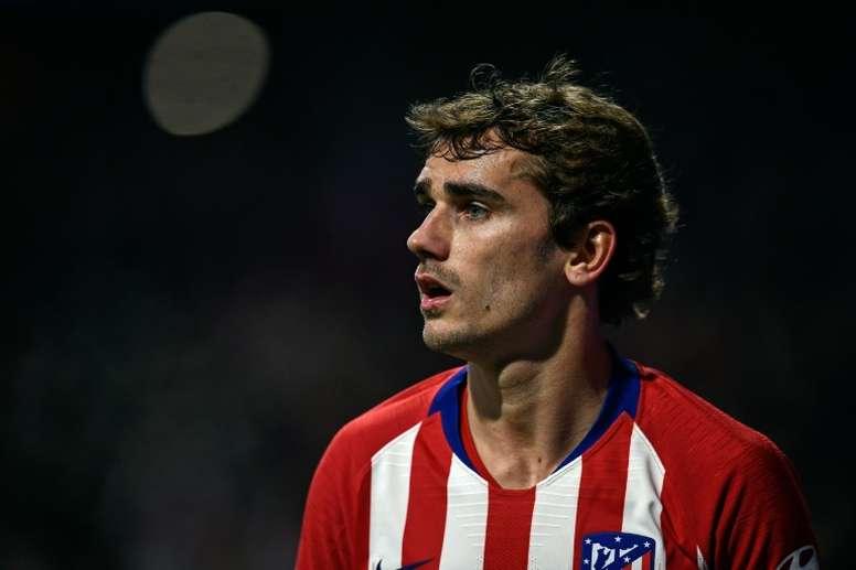 Griezmann was Atlético's marksman once more. AFP