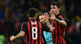 Il Milan allontana Romagnoli dal Barcellona. AFP