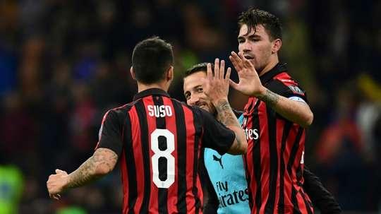 Raiola veut envoyer Romagnoli à la Lazio. AFP