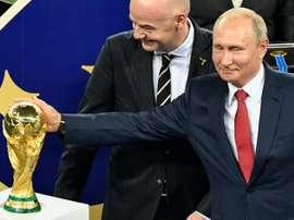 Catar 2022 lo jugarán finalmente 32 selecciones. AFP/Archivo