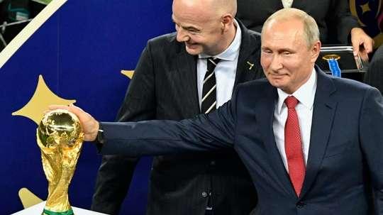 Putin salió favorecido del Mundial de Rusia. EFE