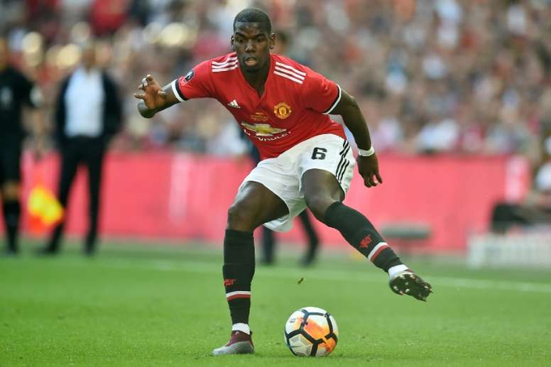 Pogba has returned to Manchester United. AFP