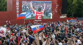 El apoyo de la hinchada anfitriona se antoja vital para superar a España. AFP/Archivo