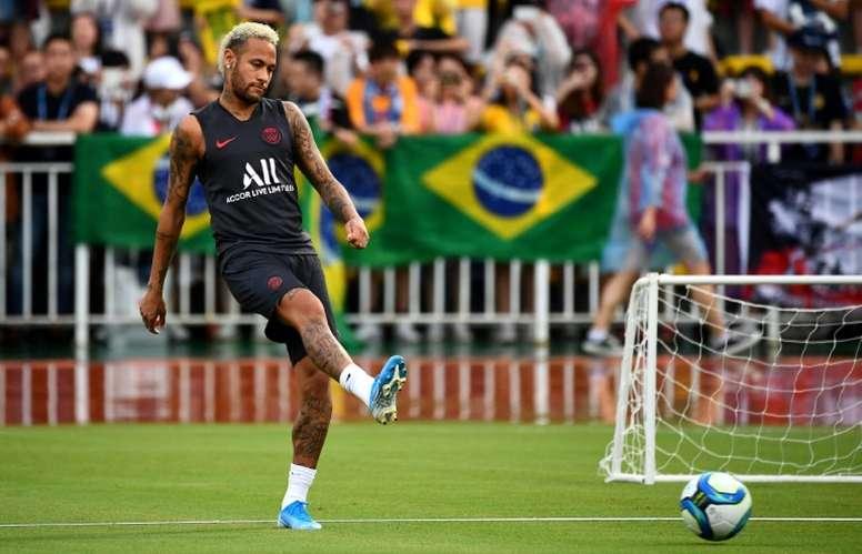 Neymar tampoco jugará contra el Toulouse. AFP