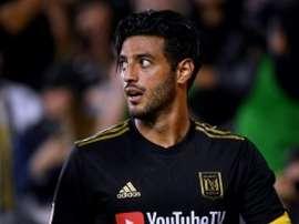 Vela, élu capitaine de l'équipe des stars de MLS. AFP