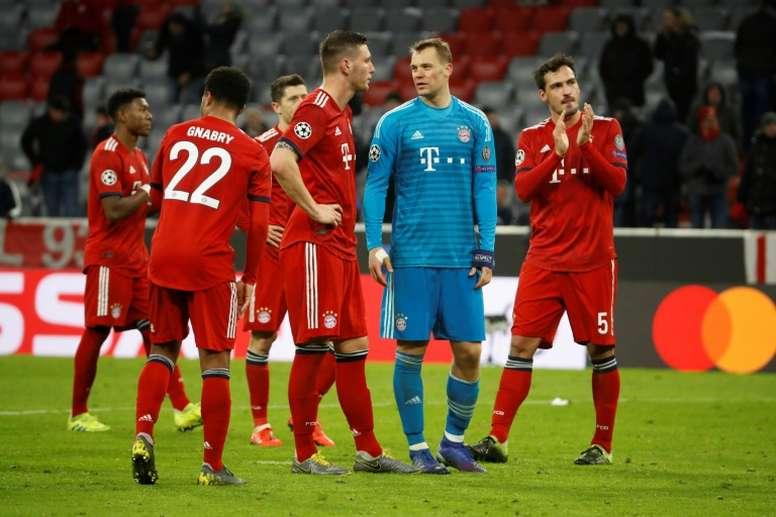 Le programme de la 26ème journée de Bundesliga. AFP