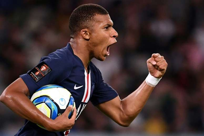 Mbappe has his opportunity to shine as PSG's main man. AFP