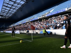 PSG won 0-9 at Le Havre with 5,000 fans present. AFP