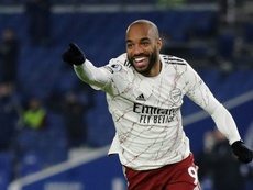 Alexandre Lacazette came off the bench to score Arsenals winner in a 1-0 victory at Brighton. AFP