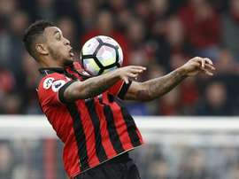 King scored from the spot to kickstart the Bournemouth comeback. AFP