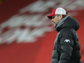 Klopp in conferenza stampa. AFP