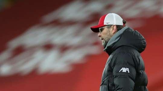 Klopp regrette l'élimination contre Manchester United. AFP
