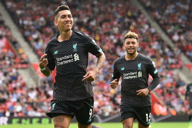 Firmino alcança marca inédita na Premier League. AFP