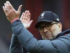 Jurgen Klopp comentou a vitória de 4 a 0 do Manchester City sobre o Liverpool. AFP