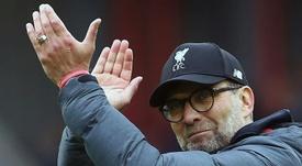 O técnico do Liverpool analisou os candidatos ao título da Champions League. AFP