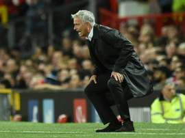 Jose Mourinho was left frustrated in the transfer window. AFP